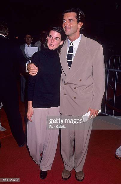 Actor Matt McCoy and wife Mary attend The River Wild Hollywood Premiere on September 25 1994 at the Mann's Chinese Theatre in Hollywood California