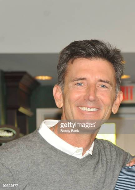 Actor Matt McCoy attends the Michael Bolton Charities Celebrity Golf Outing at the Rockrimmon Country Club on September 14 2009 in Stamford...