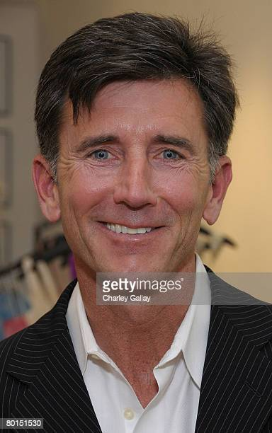 Actor Matt McCoy attends the opening of the new Badgley Mischka boutique on March 6 2008 in West Hollywood California