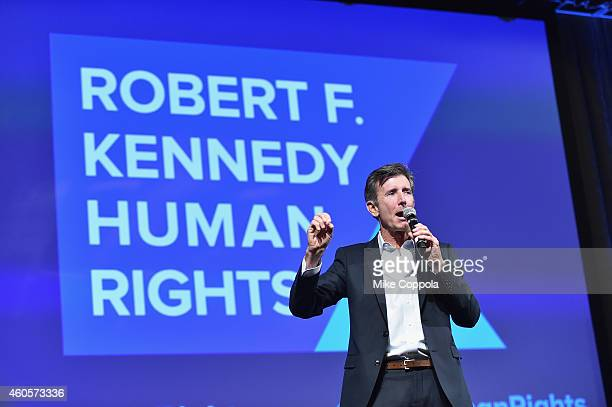 Actor Matt McCoy speaks onstage at the RFK Ripple Of Hope Gala at Hilton Hotel Midtown on December 16 2014 in New York City