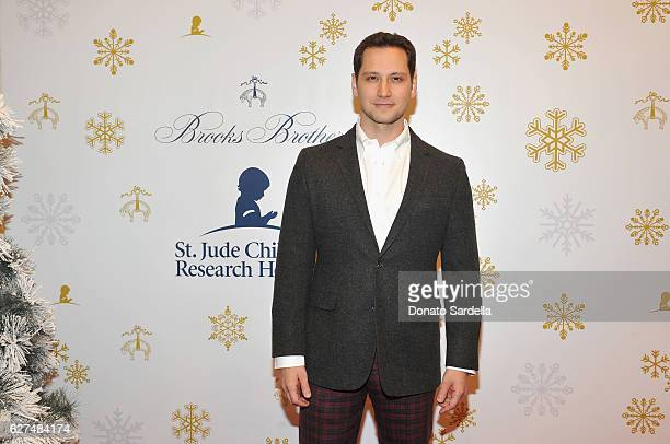 Actor Matt McGorry attends Brooks Brothers holiday celebration with St Jude Children's Research Hospital on December 3 2016 in Beverly Hills...