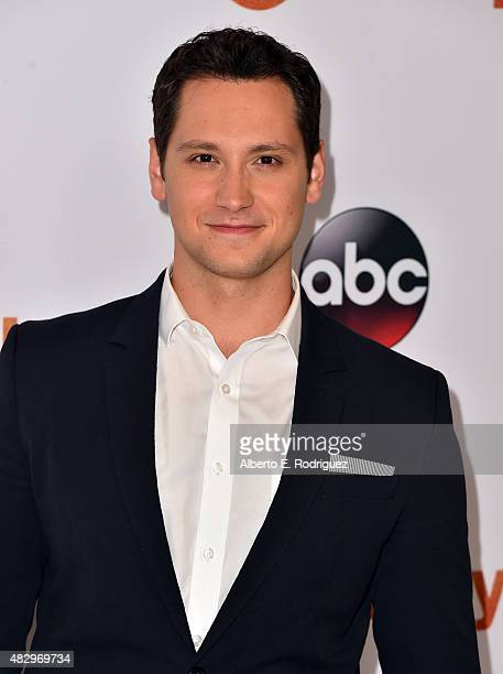 Actor Matt McGorry attends Disney ABC Television Group's 2015 TCA Summer Press Tour at the Beverly Hilton Hotel on August 4 2015 in Beverly Hills...