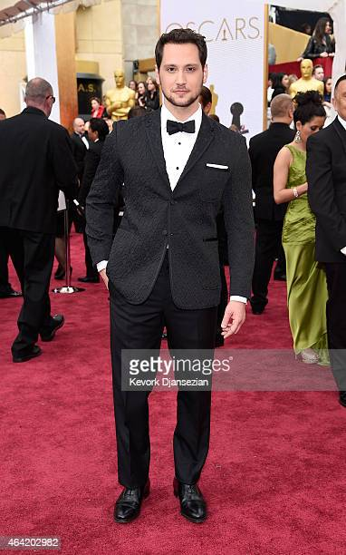 Actor Matt McGorry attends the 87th Annual Academy Awards at Hollywood Highland Center on February 22 2015 in Hollywood California