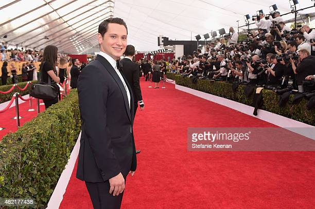 Actor Matt McGorry attends TNT's 21st Annual Screen Actors Guild Awards at The Shrine Auditorium on January 25 2015 in Los Angeles California...