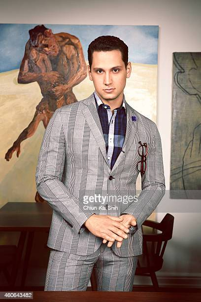 Actor Matt McGorry is photographed for August Man on June 26 2014 in New York City PUBLISHED IMAGE