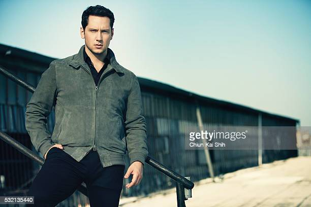 Actor Matt McGorry is photographed for GQ Taiwan on August 22 2015 in Los Angeles California