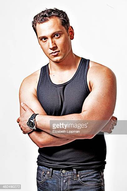 Actor Matt McGorry is photographed for New York Post on June 2, 2014 in New York City.