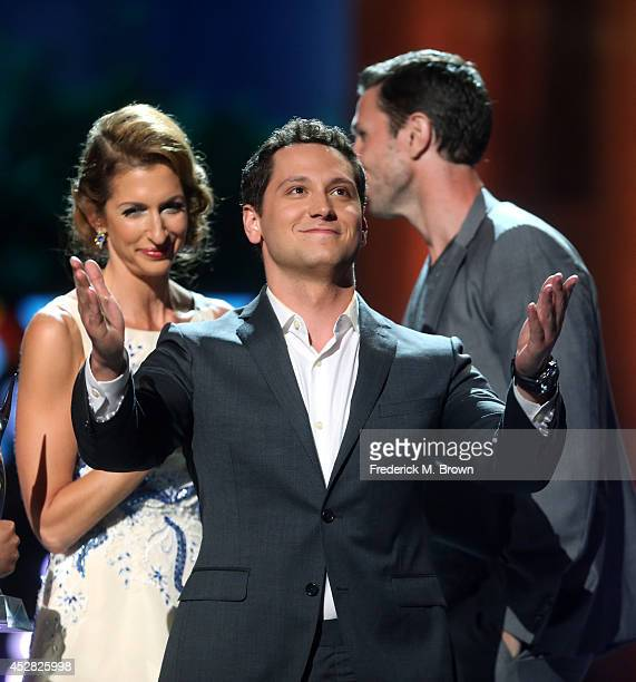 Actor Matt McGorry speak onstage at the 2014 Young Hollywood Awards brought to you by Samsung Galaxy at The Wiltern on July 27 2014 in Los Angeles...