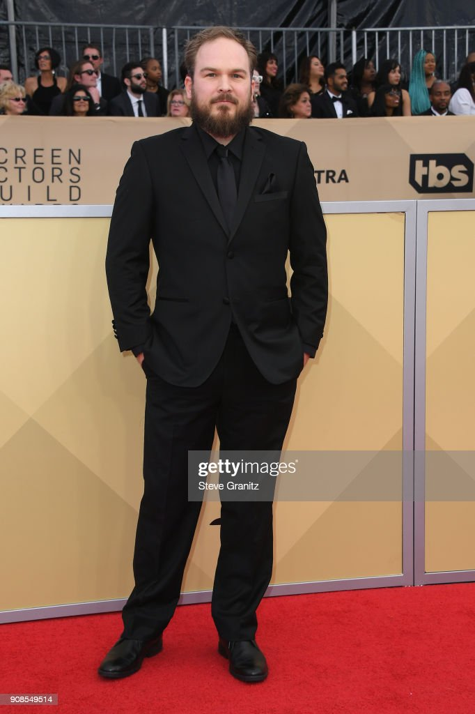 Actor Matt Peters attends the 24th Annual Screen Actors Guild Awards at The Shrine Auditorium on January 21, 2018 in Los Angeles, California.