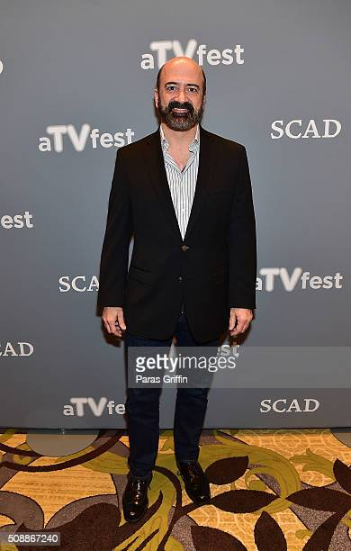 Actor Matt Servitto attends the 'Banshee' event during aTVfest 2016 presented by SCAD on February 6 2016 in Atlanta Georgia
