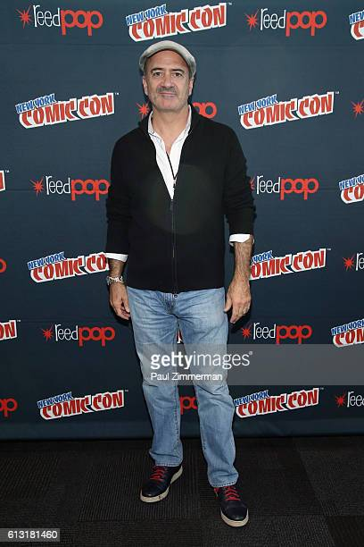 Actor Matt Servitto of Your Pretty Face Is Going to Hell poses at New York Comic Con on October 7 2016 in New York City
