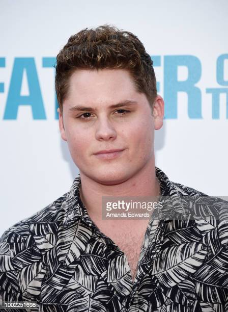 Actor Matt Shively arrives at a special screening of Netflix's 'Father Of The Year' at ArcLight Hollywood on July 19 2018 in Hollywood California