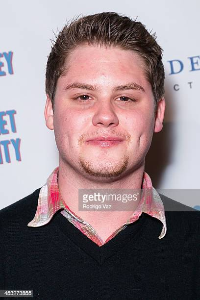 Actor Matt Shively attends 'A Journey To Planet Sanity' Los Angeles Premiere at Laemmle Monica 4Plex on December 2 2013 in Santa Monica California