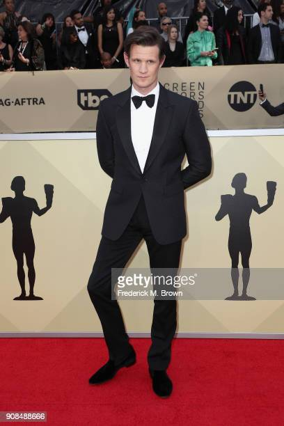 Actor Matt Smith attends the 24th Annual Screen Actors Guild Awards at The Shrine Auditorium on January 21 2018 in Los Angeles California 27522_017