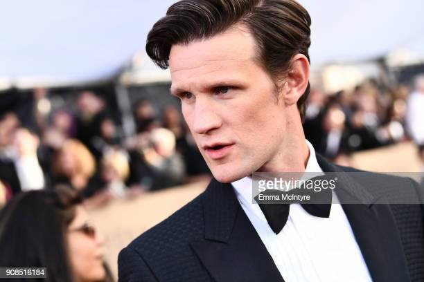 Actor Matt Smith attends the 24th Annual Screen Actors Guild Awards at The Shrine Auditorium on January 21 2018 in Los Angeles California 27522_011