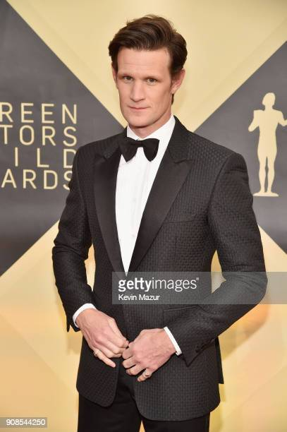 Actor Matt Smith attends the 24th Annual Screen Actors Guild Awards at The Shrine Auditorium on January 21 2018 in Los Angeles California 27522_007
