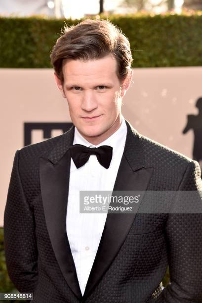 Actor Matt Smith attends the 24th Annual Screen Actors Guild Awards at The Shrine Auditorium on January 21 2018 in Los Angeles California 27522_006