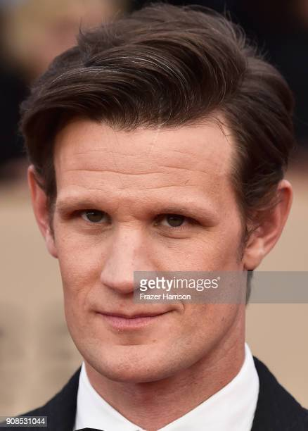 Actor Matt Smith attends the 24th Annual Screen ActorsGuild Awards at The Shrine Auditorium on January 21 2018 in Los Angeles California