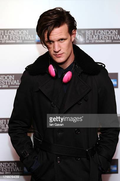 Actor Matt Smith attends the Wuthering Heights premiere during the 55th BFI London Film Festival at the Curzon Mayfair on October 22 2011 in London...