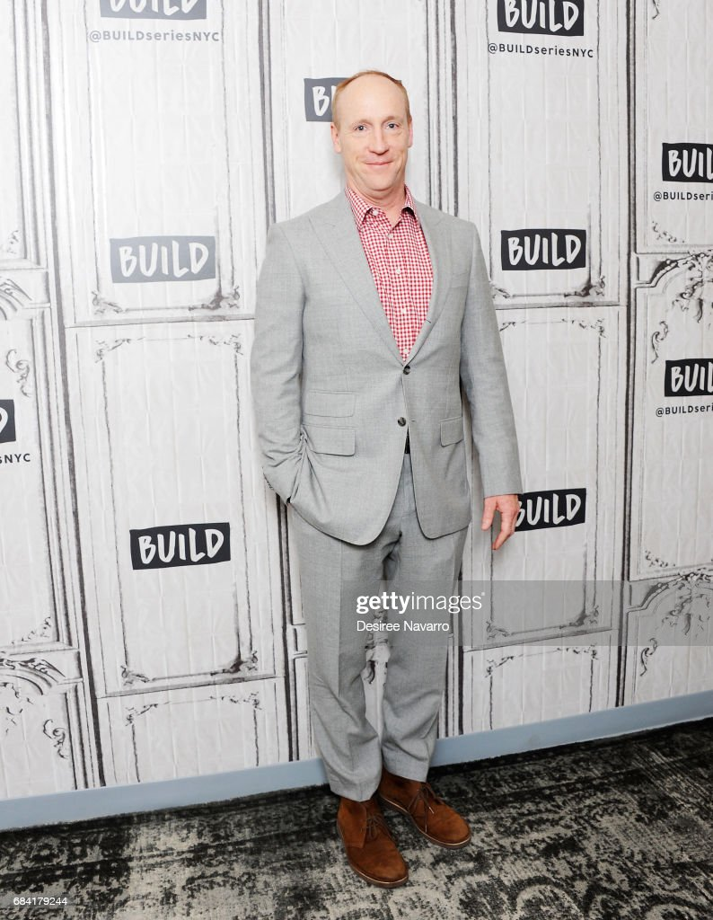 Actor Matt Walsh attends Build to discuss the HBO show 'VEEP' at Build Studio on May 17, 2017 in New York City.