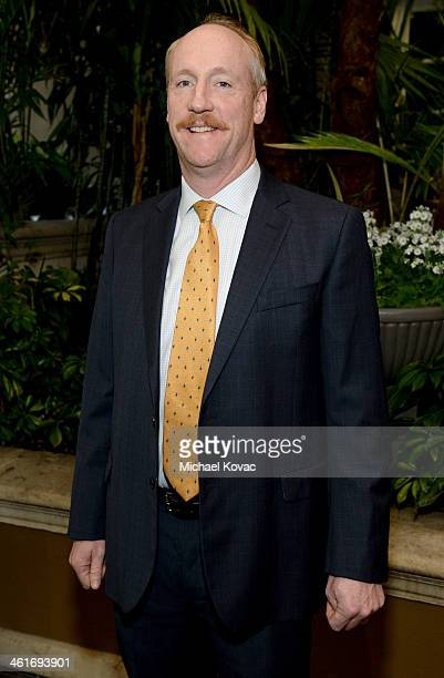 Actor Matt Walsh attends the 14th annual AFI Awards Luncheon at the Four Seasons Hotel Beverly Hills on January 10 2014 in Beverly Hills California