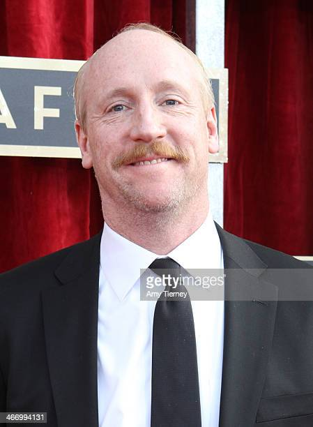 Actor Matt Walsh attends the 20th Annual Screen Actors Guild Awards at The Shrine Auditorium on January 18 2014 in Los Angeles California
