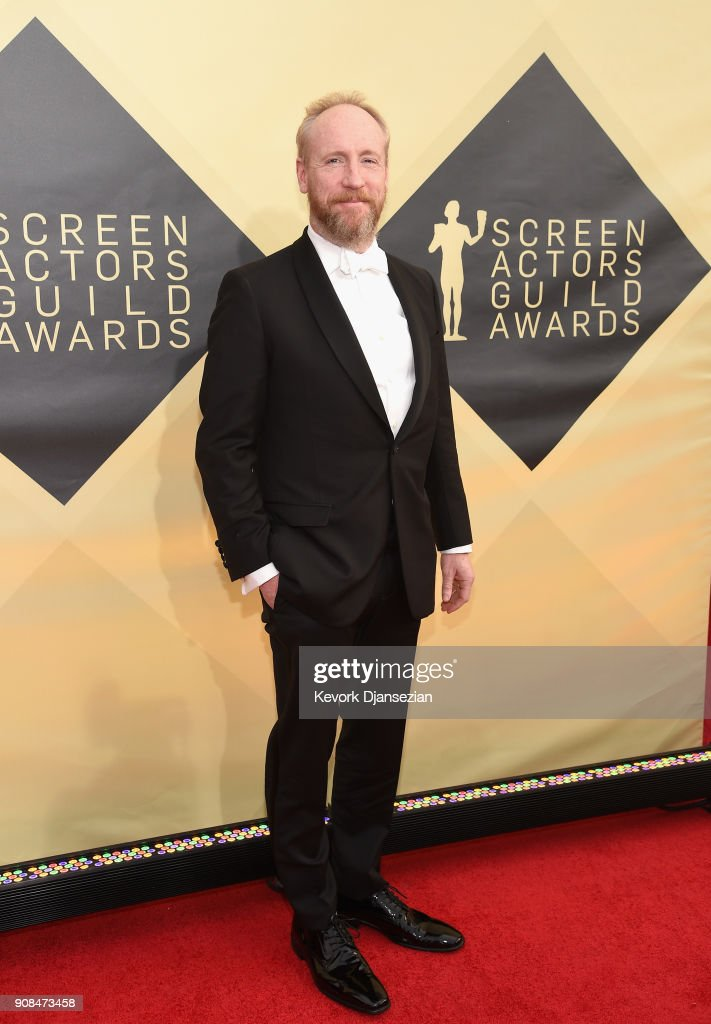 Actor Matt Walsh attends the 24th Annual Screen Actors Guild Awards at The Shrine Auditorium on January 21, 2018 in Los Angeles, California.