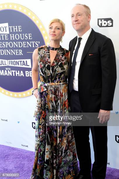 Actor Matt Walsh of Veep and his wife actress Morgan Walsh attend the Not the White House Correspondents' Dinner at DAR Constitution Hall on April 29...