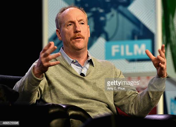 Actor Matt Walsh speaks onstage at 'The 'VEEP' Speaks' during the 2015 SXSW Music Film Interactive Festival at Austin Convention Center on March 16...