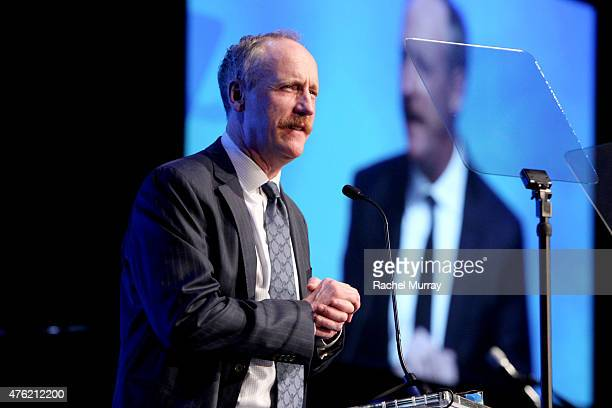 Actor Matt Walsh speaks onstage during the Global Green USA 19th Annual Millennium Awards on June 6 2015 in Century City California
