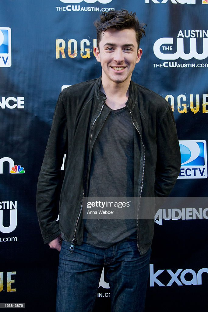 Actor Matthew Beard arrives at DIRECTV and AUDIENCE Network's Road To Rogue Party on March 16, 2013 in Austin, Texas.