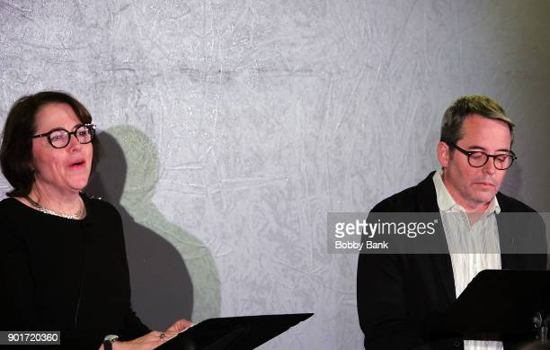 Actor Matthew Broderick and his sister Reverend Janet Broderick read Truman Capote's A Christmas Memory A Reading By Matthew Broderick at St Peter's...