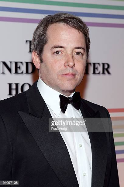 Actor Matthew Broderick arrives to the 32nd Kennedy Center Honors at Kennedy Center Hall of States on December 6 2009 in Washington DC