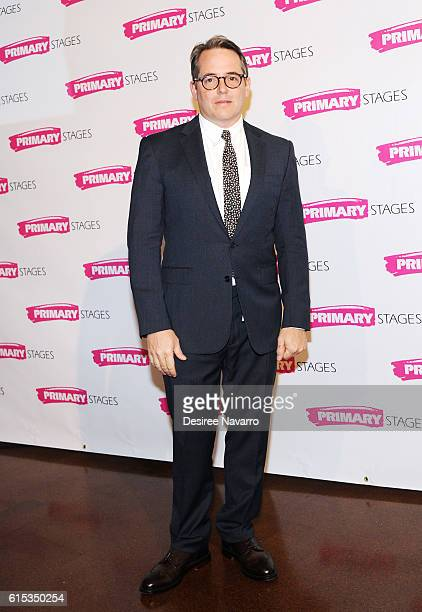 Actor Matthew Broderick attends Primary Stages 2016 Gala at 538 Park Avenue on October 17 2016 in New York City