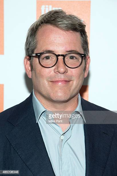 Actor Matthew Broderick attends the 2015 Film Society of Lincoln Center Summer Talks with 'Dirty Weekend' at Elinor Bunin Munroe Film Center on...