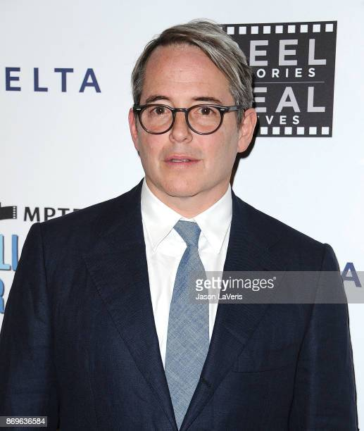 Actor Matthew Broderick attends the 6th annual Reel Stories Real Lives at Milk Studios on November 2 2017 in Hollywood California