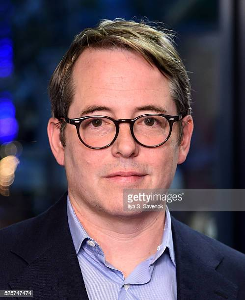 """Actor Matthew Broderick attends """"The American Side"""" New York Screening at IFC Center on April 28, 2016 in New York City."""
