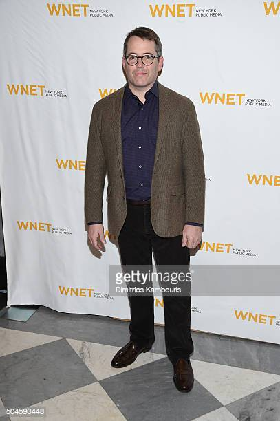 Actor Matthew Broderick attends the Mike Nichols American Masters world premiere at The Paley Center for Media on January 11 2016 in New York City