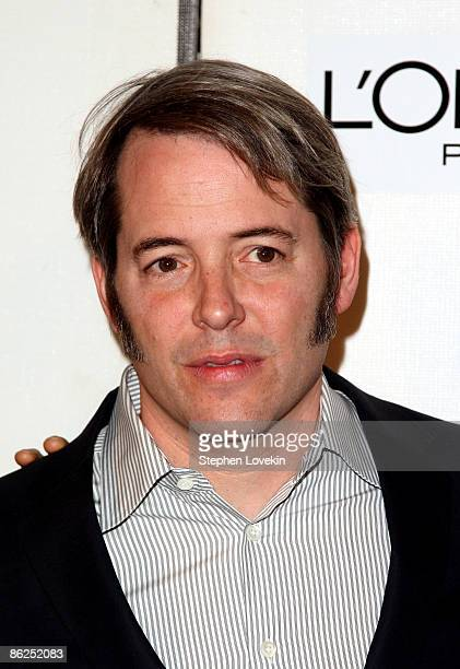 Actor Matthew Broderick attends the premiere of Wonderful World during the 2009 Tribeca Film Festival at BMCC Tribeca Performing Arts Center on April...