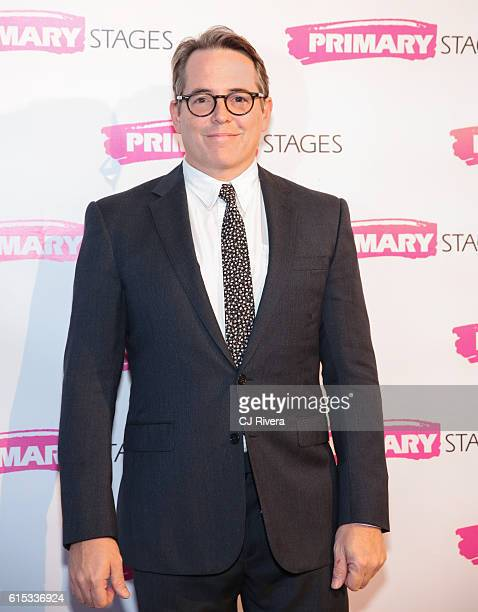 Actor Matthew Broderick attends the Primary Stages 2016 Gala at 538 Park Avenue on October 17 2016 in New York City