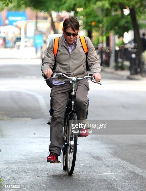 Actor Matthew Broderick is seen in The West Village on May 15 2013 in New York City