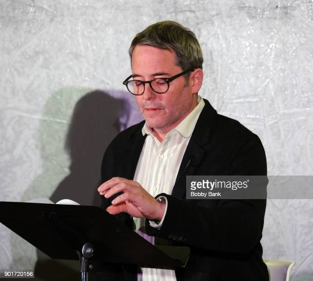 Actor Matthew Broderick reads 'Truman Capote's A Christmas Memory' A Reading By Matthew Broderick at St Peter's Episcopal Church on January 5 2018 in...