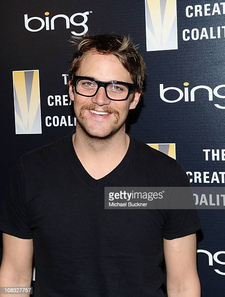 Actor Matthew Carey attends The Creative Coalition's Teachers Making a Difference Luncheon Presented by Bing on January 25, 2011 in Park City, Utah.