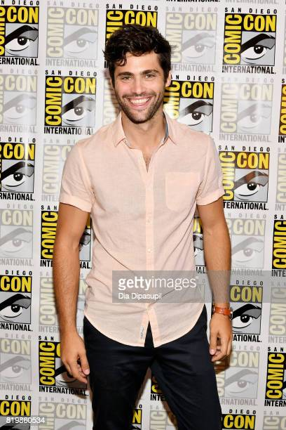 Actor Matthew Daddario at the Freeform press line for Stitchers and Shadowhunters during ComicCon International 2017 at Hilton Bayfront on July 20...