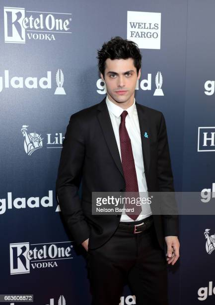 Actor Matthew Daddario celebrates achievements in the LGBTQ community at the 28th Annual GLAAD Media Awards sponsored by LGBTQ ally Ketel One Vodka...