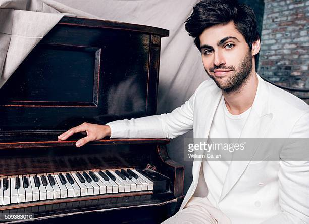 Actor Matthew Daddario of 'Shadow Hunters' is photographed for Bello on January 11 2016 in Los Angeles California