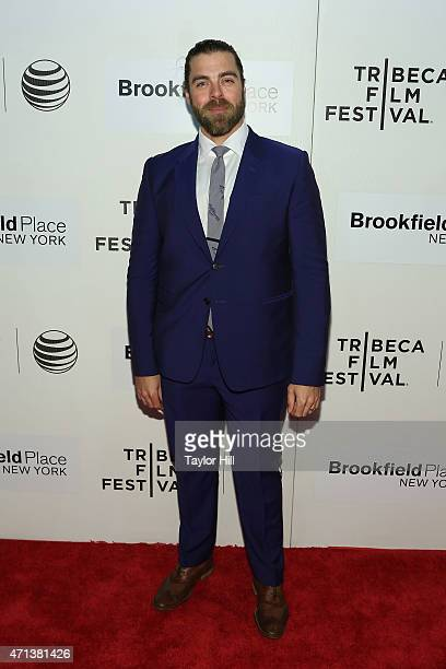 """Actor Matthew Delamater attends the world premiere of """"Tumbledown"""" during the 2015 Tribeca Film Festival at BMCC Tribeca PAC on April 18, 2015 in New..."""