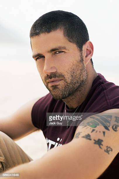 Actor Matthew Fox is photographed for TV Guide Magazine on October 4 2004