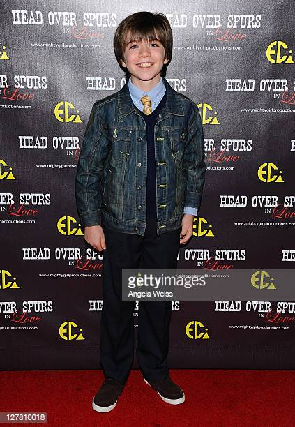 Actor Matthew Glen Johnson arrives at the world premiere of 'Head Over Spurs In Love' at Majestic Crest Theatre on March 24, 2011 in Los Angeles,...