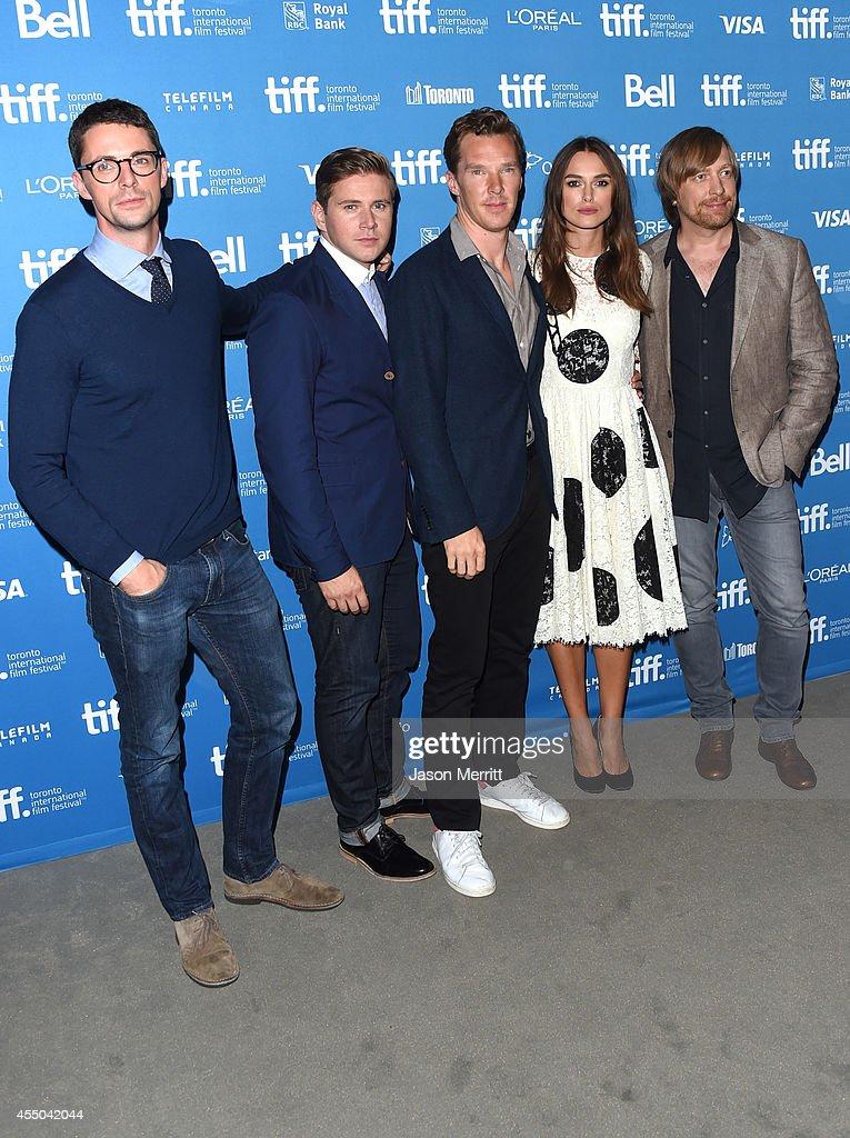 """The Imitation Game"" Press Conference - 2014 Toronto International Film Festival"